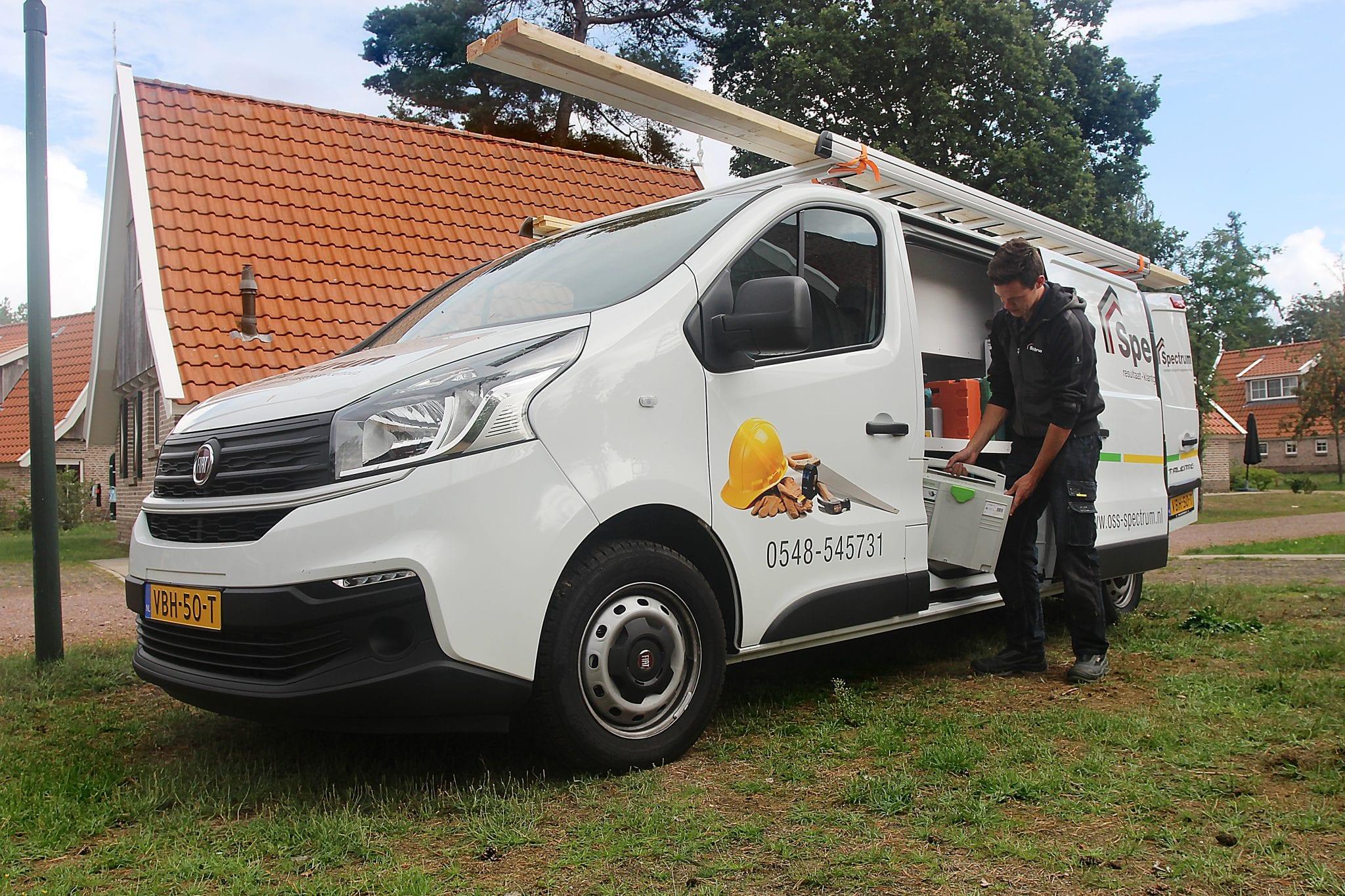 Project landgoed de Hellendoornsebeg - onderhoud service spectrum
